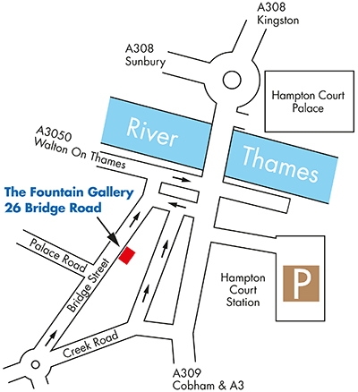 Fountain Gallery exhibitors Timothy Sutton, East Molesey